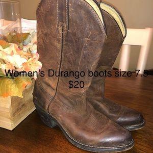 Durango cowgirl boots
